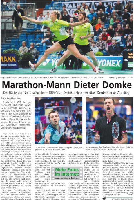 marathon mann dieter domke deutsche badminton meisterschaft. Black Bedroom Furniture Sets. Home Design Ideas